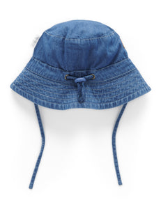 Indigo Soft Bucket Hat