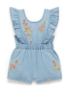 Warratah Denim Jumpsuit