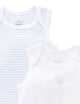 Pale Blue 2 Pack Bodysuit with Giftbox