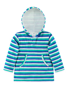 Boys Hooded Towelling Kaftan