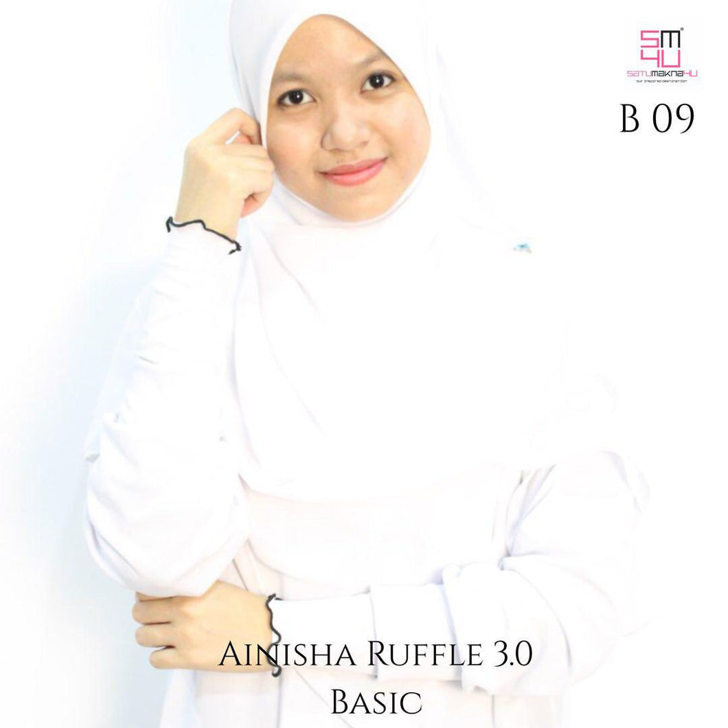 AINISHA RUFFLE - BASIC HANDSOCK (DS)