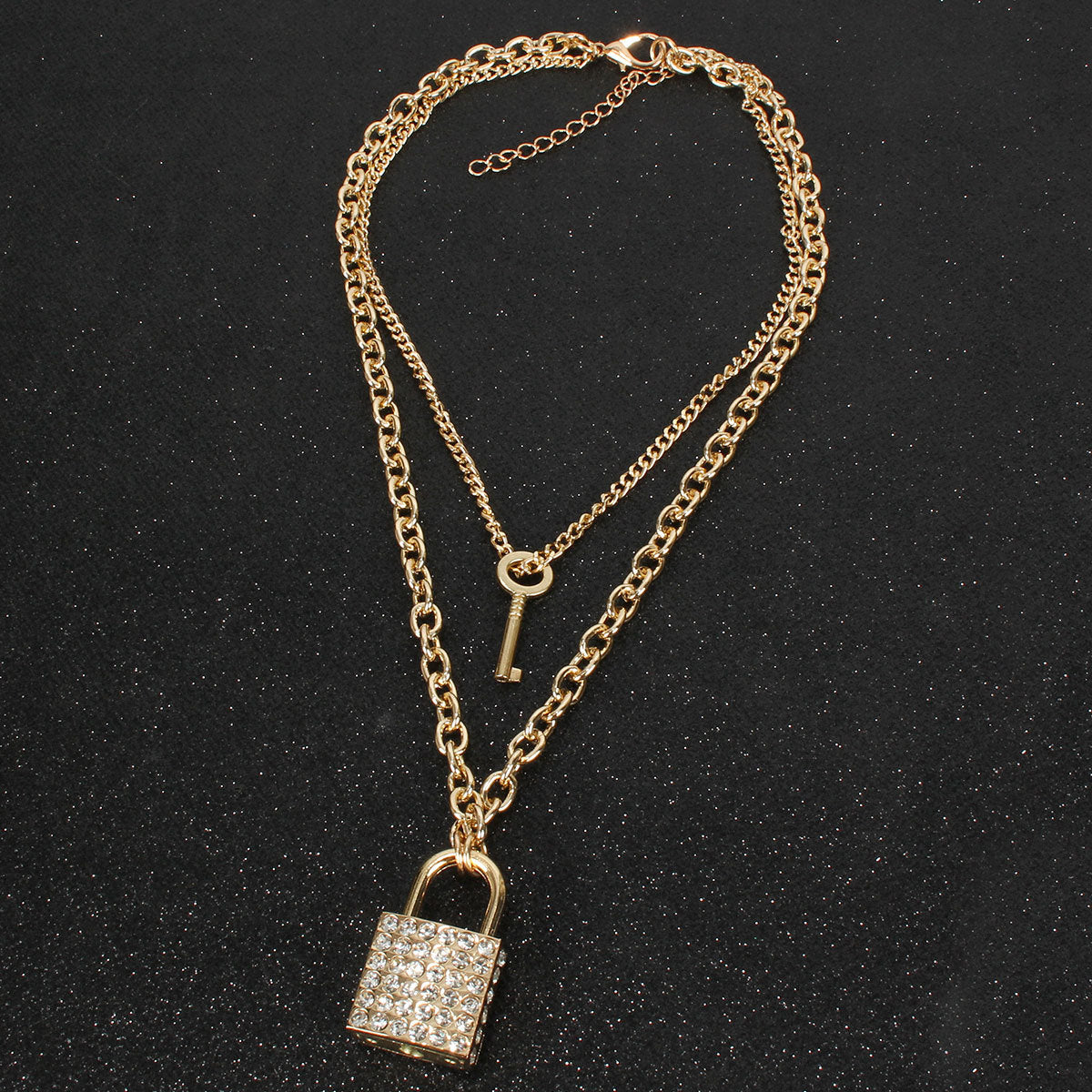 Lock it Necklace