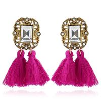Load image into Gallery viewer, Crystal Tassel Earrings - TopNotch{C}