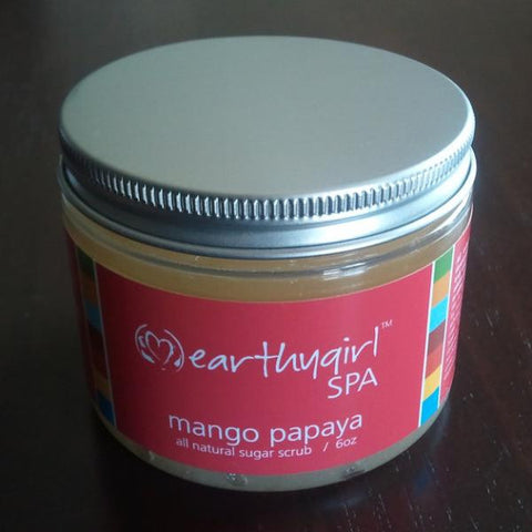 Mango Papaya Sugar Scrub 6 oz