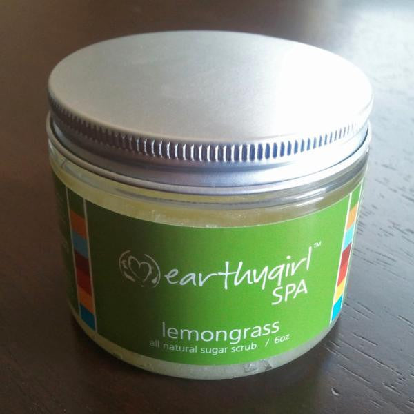 Lemongrass Sugar Scrub 6 oz
