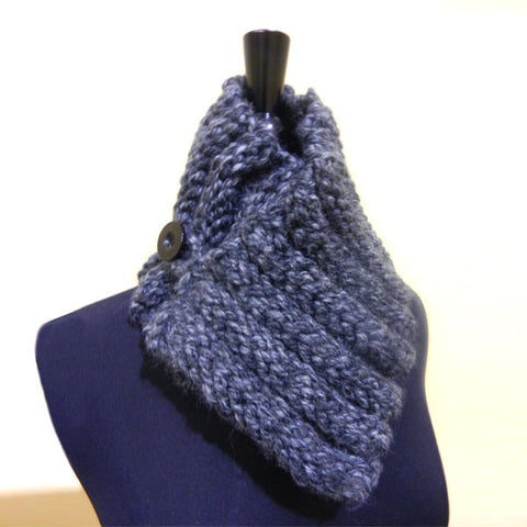 Granite Hand Knit Neck Warmer