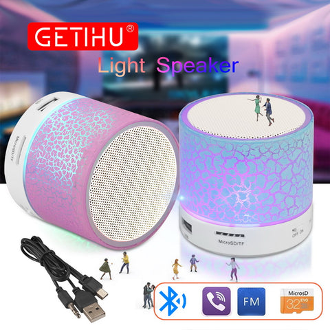 Wireless Mini Bluetooth LED Speakers