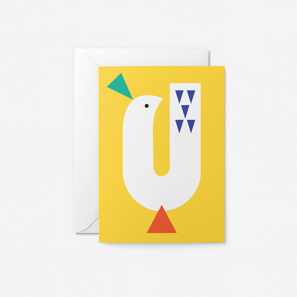 Graphic Bird - Yellow