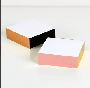 Multi-Color Edge Memo Pad