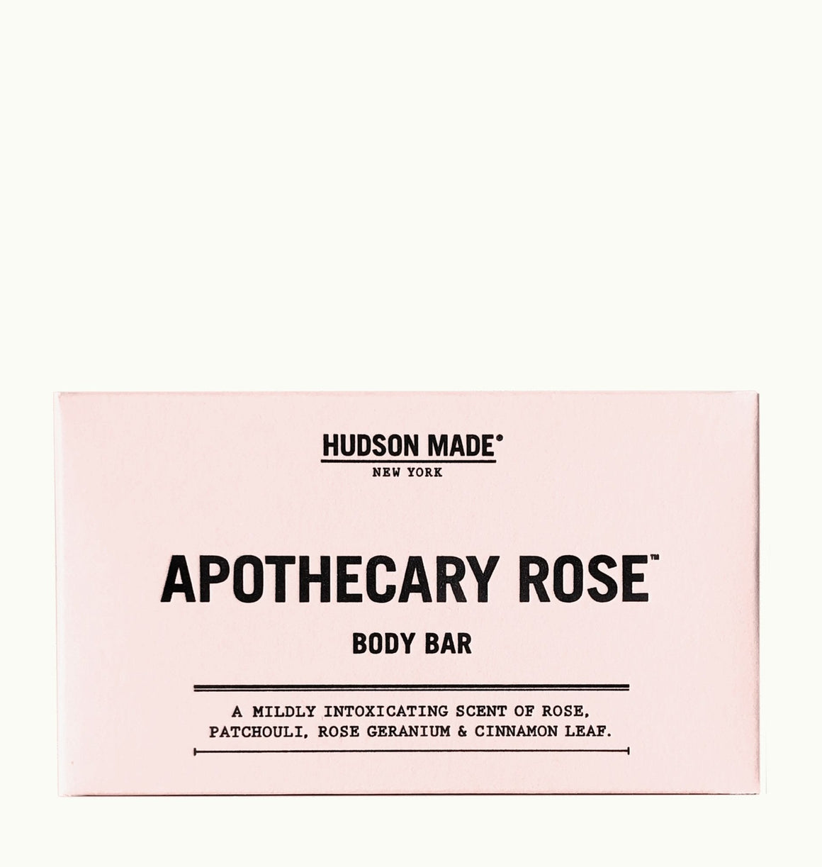 Apothecary Rose  Body Bar Soap