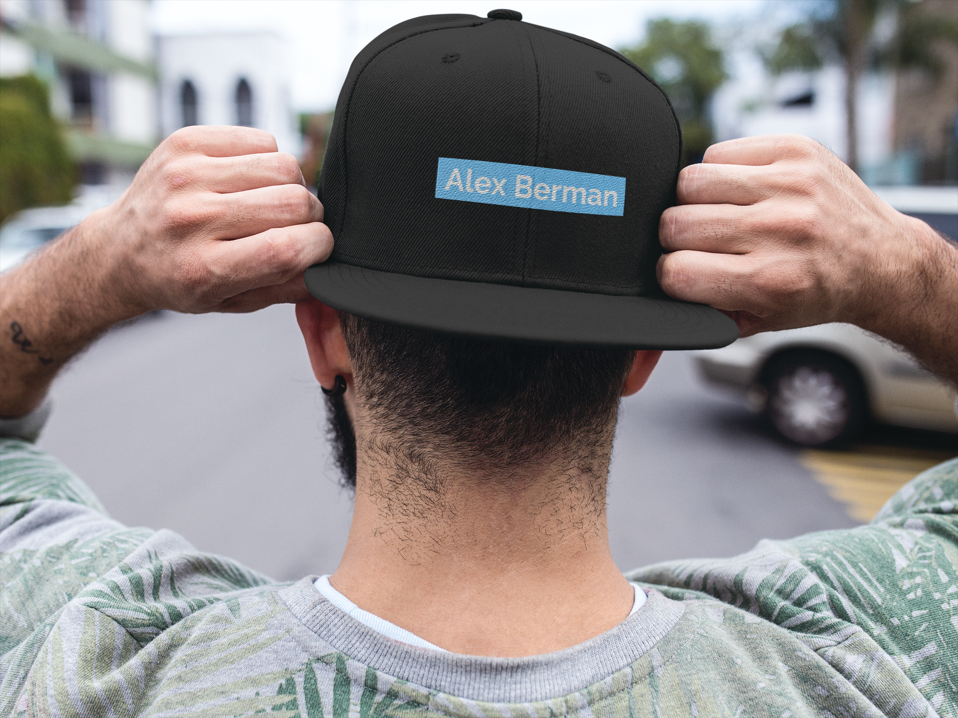 Alex Berman embroidered hat