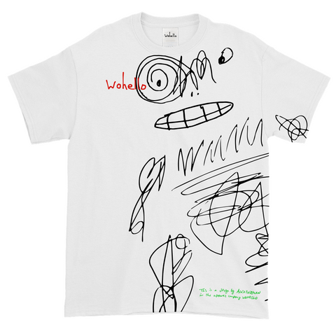 Moonman Embroidered (White)