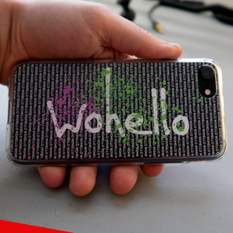 wohello iphone case