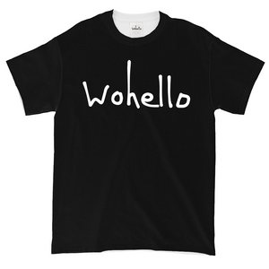Wohello Logo Shirt (Black)