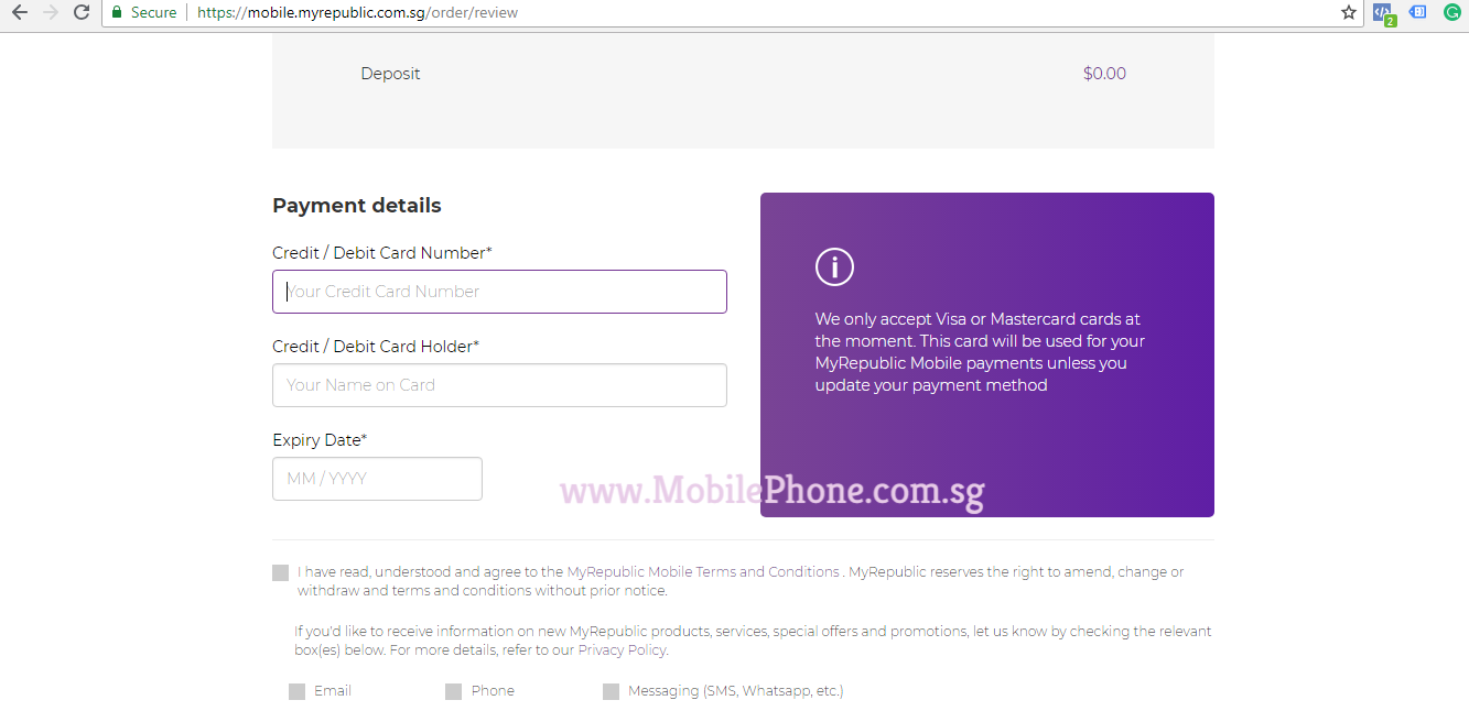 Step By Step Mobile Sign Up – MobilePhone com sg
