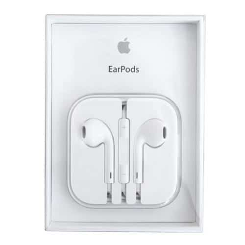 Apple original Earpods with Remote and Mic (White)