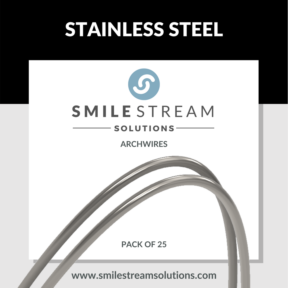 Stainless Steel (25/pack)