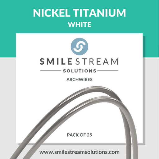 White Nickel Titanium (25/pack)
