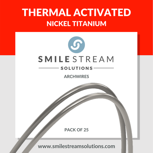 Thermal Activated Nickel Titanium (25/pack)