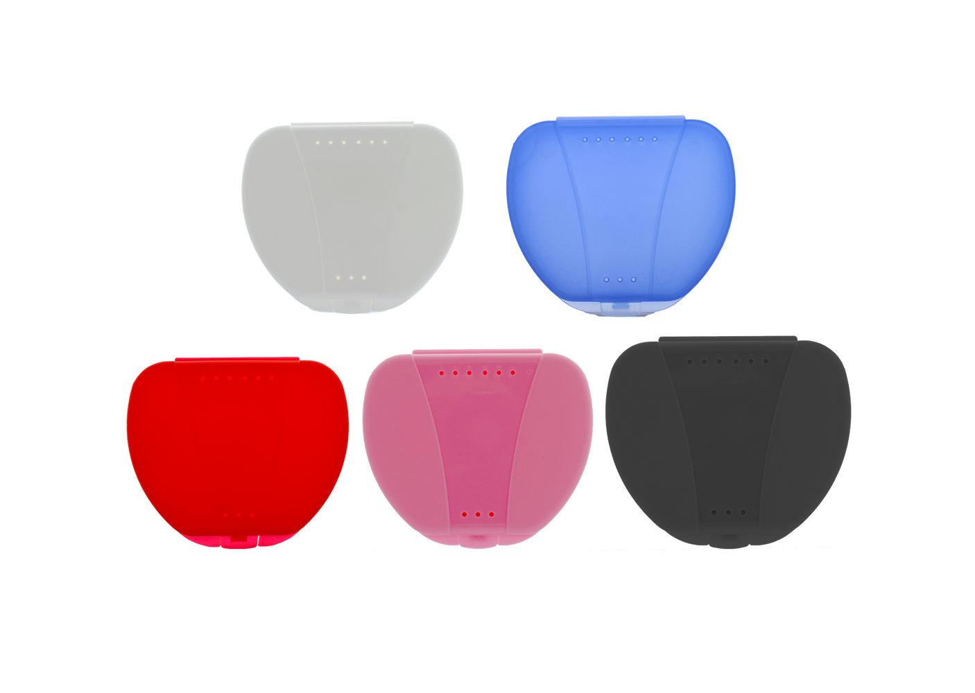 Retainer Cases - Assorted Colors (60/pack)