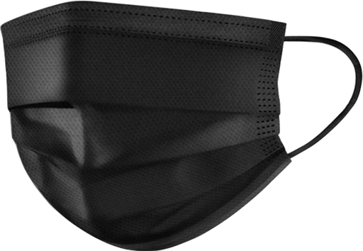 Level 2 Earloop Mask (50/Bg) - Black