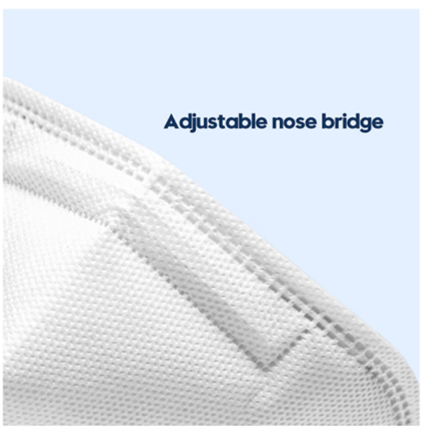 KN95 Mask (10/Bag) - White