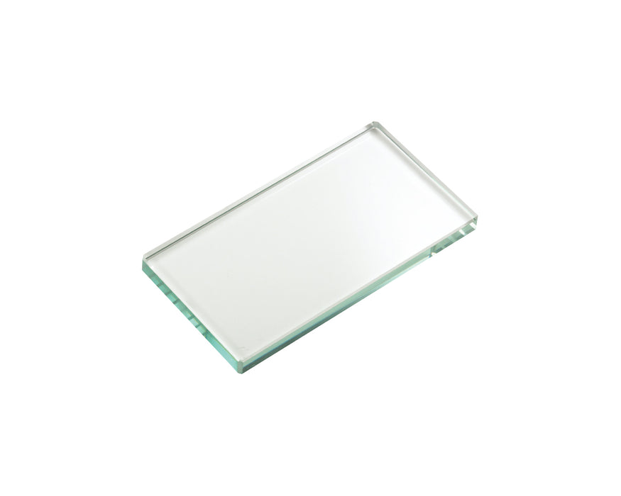 "Glass Mixing Slab - 3"" x 4-3/4"" - SmileStream"