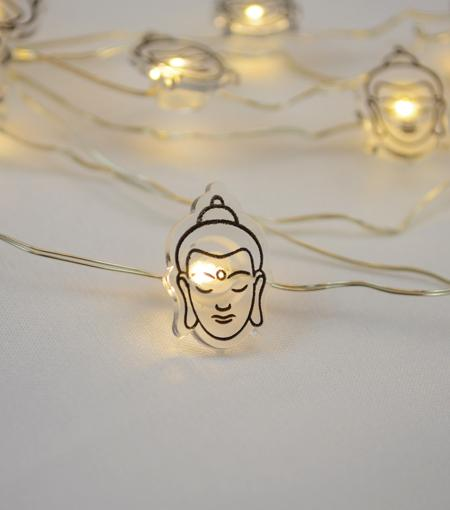 Brooklyn Lighting Company Buddha Head Wire Lights