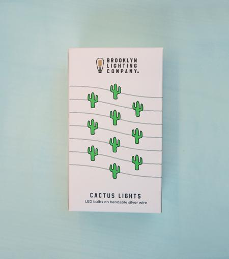 Brooklyn Lighting Company Cactus Wire Lights