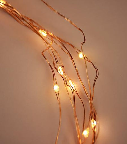 Brooklyn Lighting Company Copper Wire Lights