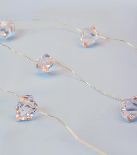 Brooklyn Lighting Company Crystal Wire Lights