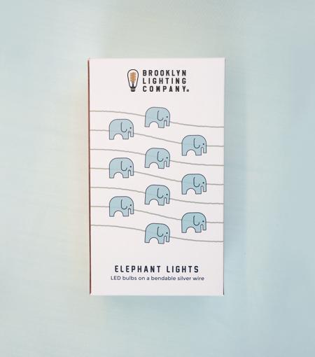 Brooklyn Lighting Company Elephant Wire Lights
