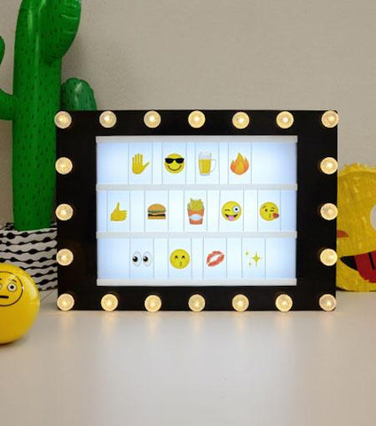 Brooklyn Lighting Company Emoji 100 Supplement Tile Pack For Light Boxes