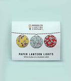 Brooklyn Lighting Company Paper Lantern Lights