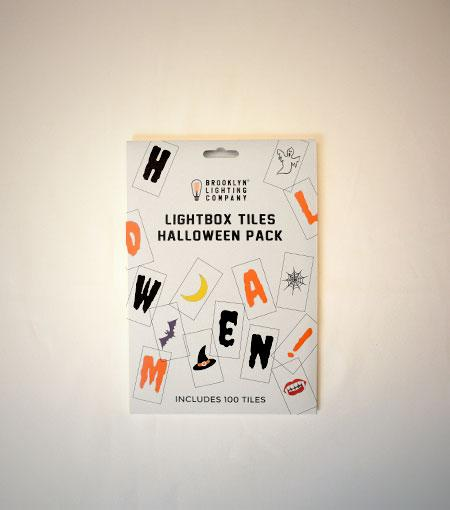 Brooklyn Lighting Company Halloween 100 Supplement Tile Pack For Light Boxes