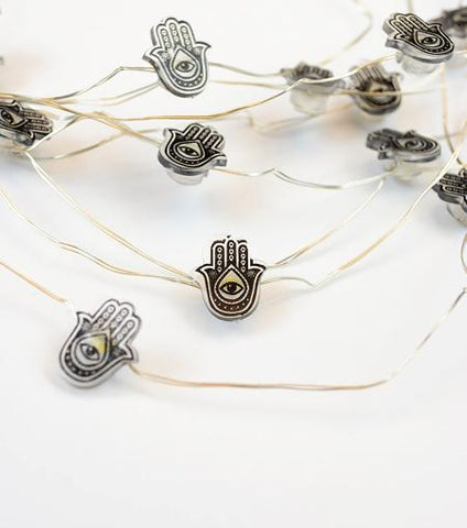 Brooklyn Lighting Company Hamsa Hand Wire Lights