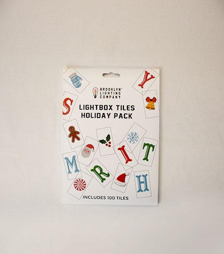 Brooklyn Lighting Company Holiday 100 Supplement Tile Pack For Light Boxes