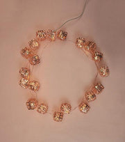 Brooklyn Lighting Company Rose Gold Woven Package Wire Lights