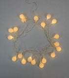 Brooklyn Lighting Company White Orb String Lights