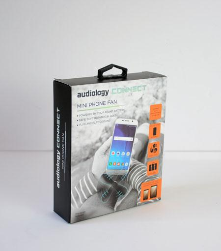 Audiology Mini Phone Fan - USB