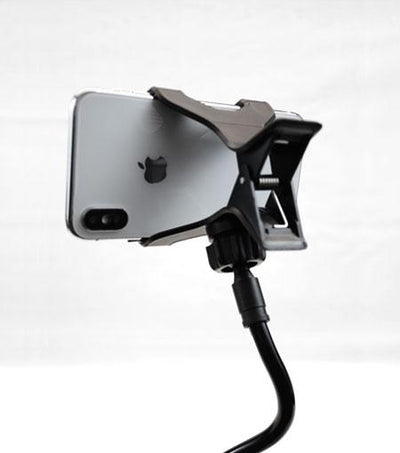 Audiology Black Universal Flexible Smartphone Mount Clamp