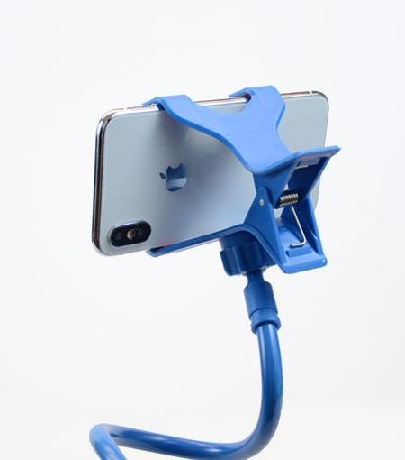 Audiology Blue Universal Flexible Smartphone Mount Clamp