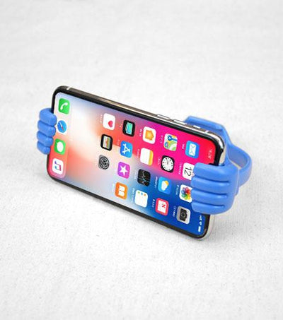 Audiology Blue Thumbs Up Universal Smartphone Stand