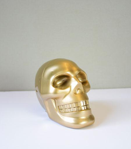 Audiology Gold USB Skull Speaker