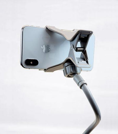 Audiology Gray Universal Flexible Smartphone Mount Clamp