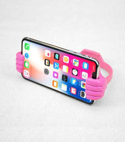 Audiology Pink Thumbs Up Universal Smartphone Stand
