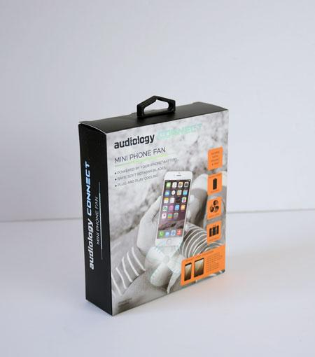 Audiology Mini Phone Fan - iPhone®