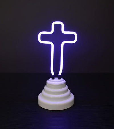 Funderdome Neon Cross Light