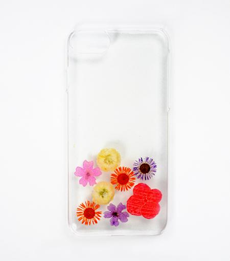 LMNT Abstract Pressed Flower iPhone®Case