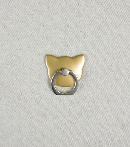 LMNT Gold Cat Universal Cell Phone Ring Stand